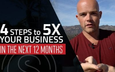 Exponential Business Growth — 4 Steps to 5x Your Business in The Next 12 Months