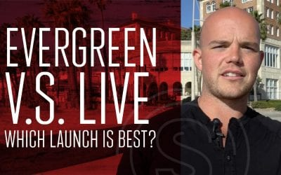 Product Launch Strategy — Evergreen vs Live Launch (which is best?)
