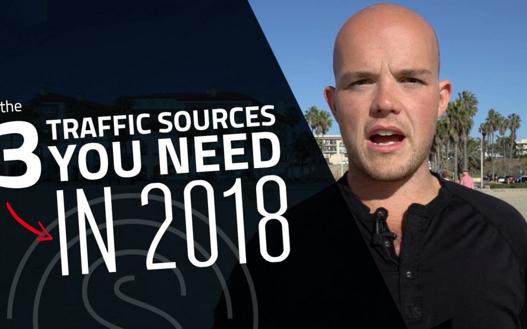 Lead Generation Marketing — The 3 Traffic Sources You Need in 2018