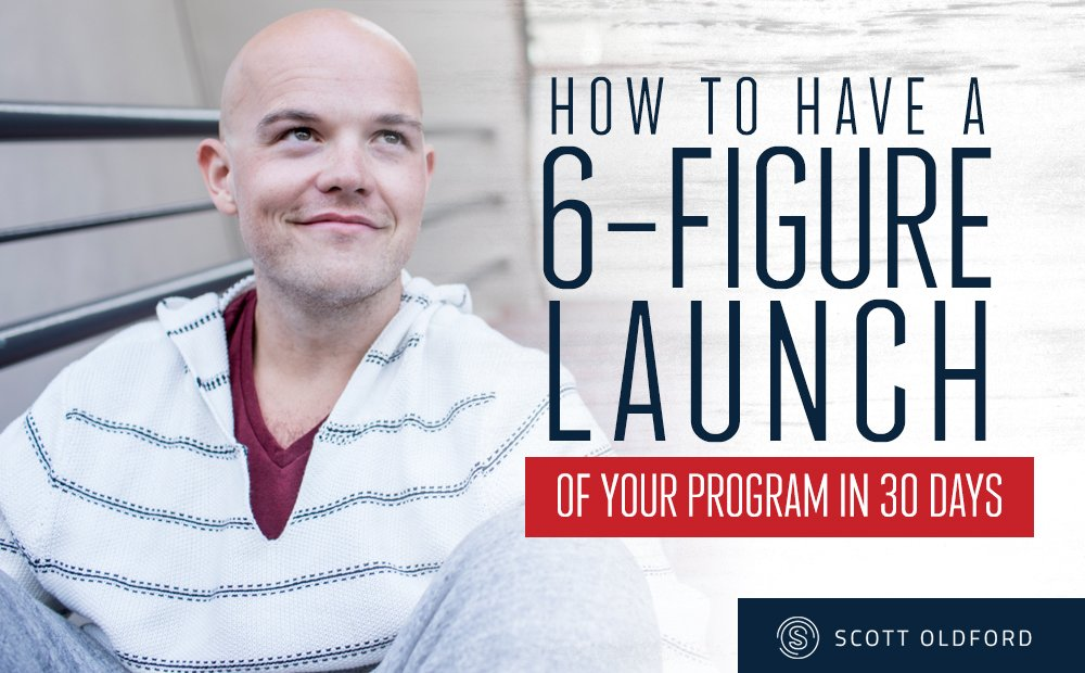 How to Have a 6-Figure Launch For Your Business Mentorship Program (in just 30 Days)