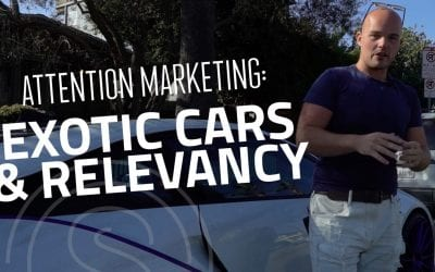 Attention Marketing == What Exotic Cars Have To Do With Being Relevant
