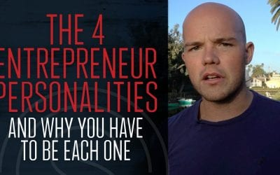 4 Entrepreneur Personality Type (and why you need to be each one)