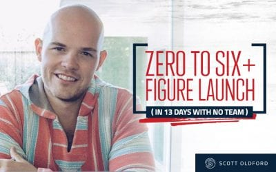 $0 to 6+ Figure Launch in 13 Days (with no team and less than $7,000 Ad Spend)