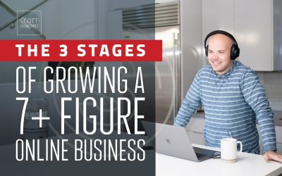 The 3 Stages of Growing a 7+ Figure Online Business (Lessons and Resources From Helping 100's Scale Their Online Business)
