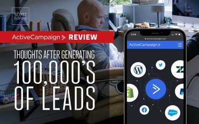 ActiveCampaign Review: Thoughts After Generating Hundreds of Thousands of Leads